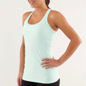 Lululemon Cool Racerback Mint Moment Size 4